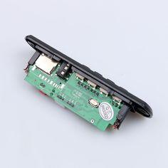 Caliente más nuevo 2017 Bluetooth Inalámbrico 12 V Módulo de Placa del Decodificador de Audio MP3 WMA USB TF de Radio Para El Coche accesorios