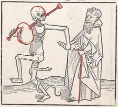 Heidelberger Totentanz Heidelberg: Heinrich Knoblochtzer, nicht nach 1488 GW M47257  Folio 16r