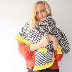Gigi Knitted Lambswool wrap