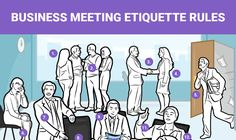 """Work meetings aren't always fun. However, when you're required to attend one, it's important that you conduct yourself in a respectful and professional manner among your coworkers, bosses, and current or prospective clients. Barbara Pachter, a career coach and author of """"The Essentials Of Business Etiquette,"""" gave us a few tips to maintain a positive and professional image while in a meeting."""