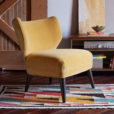 Retro Wing Chair | West Elm