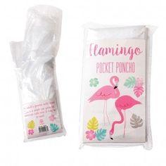 Flamingo Bay Rain Poncho