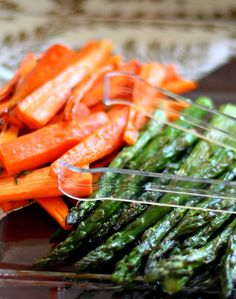 Quick Roasted Vegetables