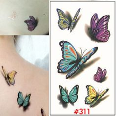 40 best Realistic Temporary Tattoos For Women images | Realistic ...