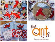 The ants: Βάπτιση αγόρι με θέμα αεροπλανάκι Ants, Straw Bag, Holiday Decor, Blog, Ant, Blogging