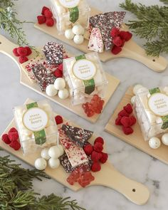 Holiday Candy, Christmas Candy, Charcuterie And Cheese Board, Cheese Boards, White Chocolate Peppermint Bark, Champagne Gummy Bears, Spiked Eggnog, Diy Gift For Bff, Party Food Platters