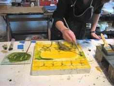 **▶ Tracy Spadafora's Encaustic Painting Movie - YouTube Encaustic Painting, Painting & Drawing, Wax Art, Acrylic Art, Art Techniques, Artist At Work, Art Tutorials, Painting Inspiration, Art Lessons
