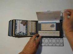 Bo Bunny Woodland Winter Mini Album in a Box