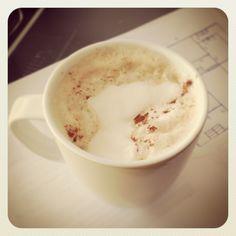 cappucino matutino com chantily * morning cappucino with whipped cream