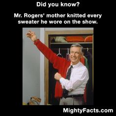 Mr. Rogers Sweaters