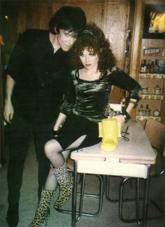 .Poison Ivy & Lux Interior (The Cramps).