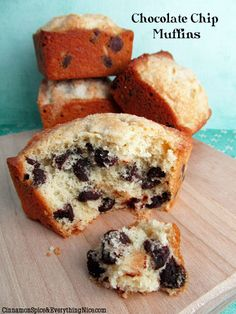 The Best Chocolate Chip Muffins