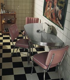 Retro American 50s Style Diner Sets, A Mix And Match Selection Of American  Diner Booths