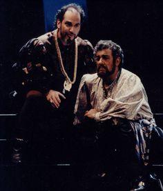 Atlantic Coast Opera Festival Founder Robert McFarland as Jago opposite Plácido Domingo, Otello Otello