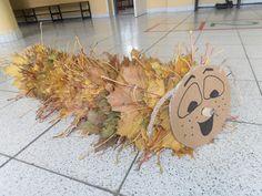 Ideas for Kids Craft Autumn - Knutselideeën Herfst Autumn Crafts, Fall Crafts For Kids, Nature Crafts, Autumn Nature, Autumn Art, Fall Preschool, Preschool Crafts, Art Lessons For Kids, Art For Kids