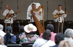 El Trio Veracruzano en Chapultepec Foto: Antonio Nava / Secretaría de Cultura del GDF.