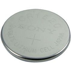 LENMAR WCCR1620 3-Volt Lithium Coin Battery (CR1620; 75mAh)