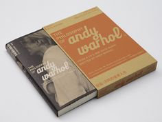 the philosophy of andy warhol . book design ++ wang zhihong