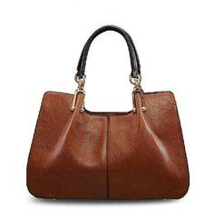 Vintage Leather Classic Crossbody Bag