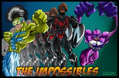 THE IMPOSSIBLES by davisales