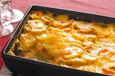 Easy Scallop Potatoes