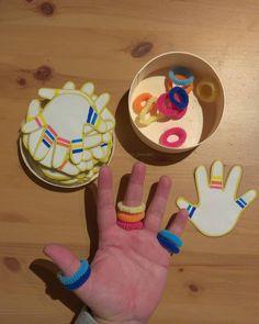 Bastel für dein Kind ein neues Spiel. Es ist ganz einfach. Numbers Preschool, Au Pair, Nursery School, Toddler Activities, Crafts For Kids, Number Puzzles, Creative, Infant Activities, Corona