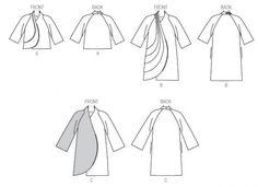 Damesblazer / jasje in twee lengte varianten.