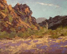 James Toenjes Artworks Gallery Desert Art, Landscape Photos, Artworks, Gallery, Painting, Roof Rack, Painting Art, Paintings, Painted Canvas