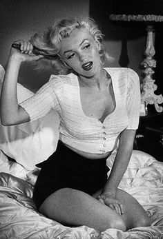 """American icon, Marilyn Monroe is credited with bringing denim to women after wearing a pair in her film, """"The Misfits."""" If that's not #ShapingStyle, we're not sure what is."""