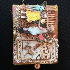 Altered Cigar Box for Creative Carte Blanche.  The complete tutorial can be seen on my blog here: http://candycreates.blogspot.com/2016/04/aprils-art-adventure-altered-cigar-box.html