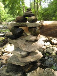 she moves the furniture: Cairns: Lovely Piles of Rocks