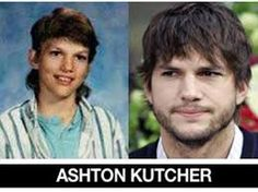 now and then pics of celebrities - Google Search