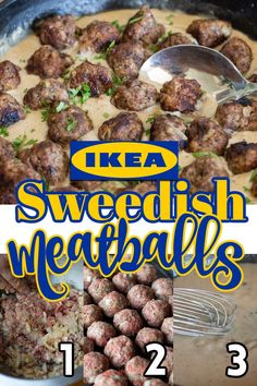 Ikea Meatball Sauce, Swedish Meatball Sauce Recipe, Swedish Meatballs Sauce, Ikea Meatballs, Meatballs And Gravy, Beef Recipes, Cooking Recipes, Hamburger Recipes, Cat Recipes