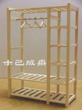 1/6 BJD muñeca accesorios muebles - armario de madera maciza montaje armario ropero(China (Mainland))
