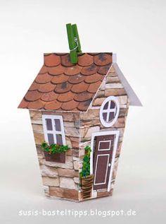 """frühlingshaftes English Cottage mit Stampin' Up! Framelits """"Zu Hause""""   Susi's Basteltipps   Bloglovin'"""