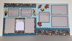 Swan Lake   6 page Scrapbook Workshop           Layout A - B         Layout C - D             Layout E - F       See the entire paper pac...