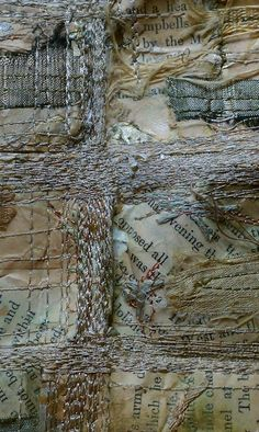 Mixed Media Fiber Art - Lisa M. Parrott