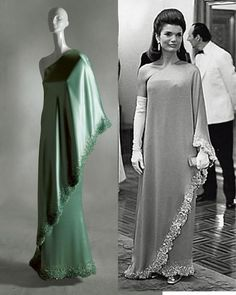 Jacqueline Kennedy in Valentino's Design