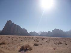 Desierto Wadi Rum en Jordania