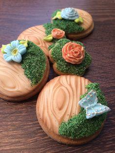 Lorena Rodriguez. Easter spring cookies.