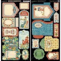 Graphic 45 Graphic45 Home Sweet Home Tags and Pockets