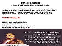 Caminho do Senhor Convida para a sua Palestra Pública - Brás de Pina - RJ - http://www.agendaespiritabrasil.com.br/2016/10/29/caminho-do-senhor-convida-para-sua-palestra-publica-bras-de-pina-rj-2/