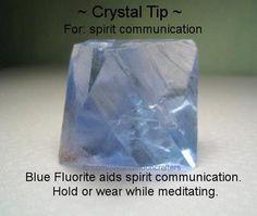 Crystal Tip - Spirit Communication