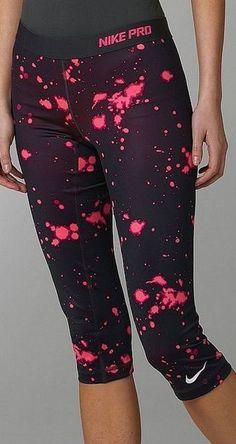 Nike Capri Workout Yoga Pants