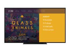 HIIT platform for Apple TV