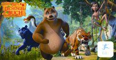 Das Dschungelbuch Neue Zeichentrickserie bei Kixi Kinderkino - http://www.kinderkino.de/redaktion/newsletter/kixi/dschungelbuch.html