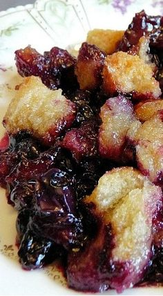 Quick and Easy Blueberry Betty