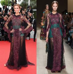 Karlie Kloss in Valentino SS14 at Cannes Film Festival 2014 Opening Ceremony - LaiaMagazine