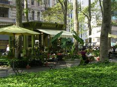 Bryant Park New York...just love it there!