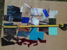 FUSABLE STAINED GLASS SCRAPS 5+ POUNDS GOOD COLORS PRICED WAY BELOW RETAIL PRICE